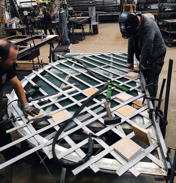 Costruzione di una griglia con arco