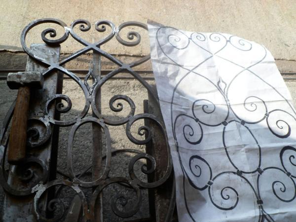 Progetto e costruzione ferro battuto